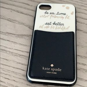 Accessories - iPhone 6 Kate space case and wallet